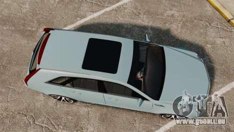 Cadillac CTS SW 2010 für GTA 4 rechte Ansicht
