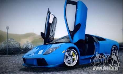 Lamborghini Murciélago 2005 für GTA San Andreas obere Ansicht
