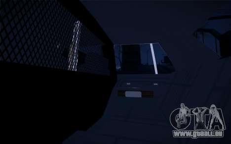 Police North Yankton für GTA San Andreas Seitenansicht