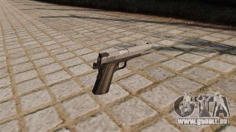 Pistolet M1911 SMGF pour GTA 4 secondes d'écran