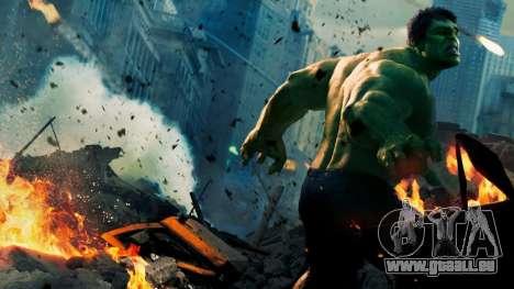 Écran de démarrage Vengeurs pour GTA 4 quatrième écran