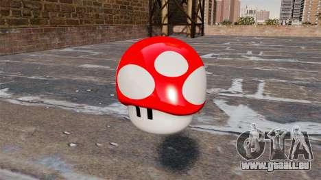 Champignon Mario de la Grenade pour GTA 4