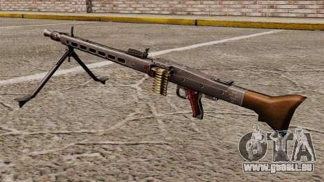 Usage général mitrailleuse MG42 pour GTA 4 secondes d'écran