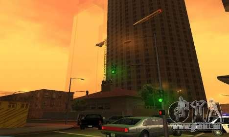 Il a achevé la construction de San Fierro V1 pour GTA San Andreas troisième écran