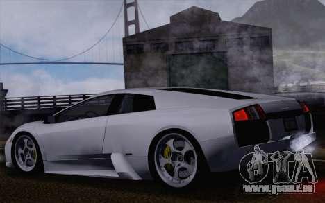 Lamborghini Murciélago 2005 pour GTA San Andreas roue