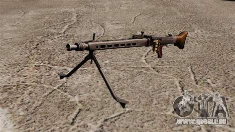 Usage général mitrailleuse MG42 pour GTA 4
