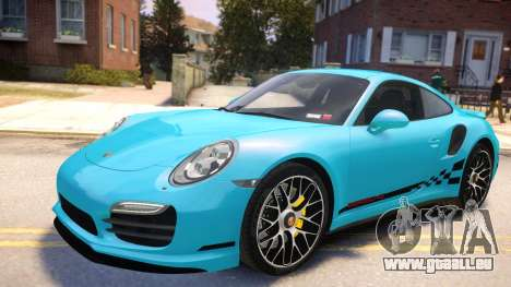 Porsche 911 Turbo 2014 [EPM] pour GTA 4