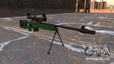 SV-98 Scharfschützengewehr für GTA 4