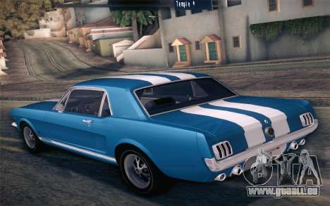 Ford Mustang GT 289 Hardtop Coupe 1965 für GTA San Andreas Motor