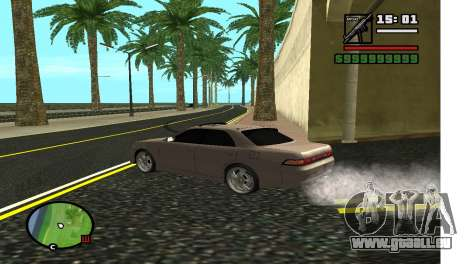 Ruelle dans LA pour GTA San Andreas deuxième écran