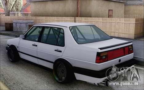 Volkswagen Jetta Mk2 pour GTA San Andreas laissé vue