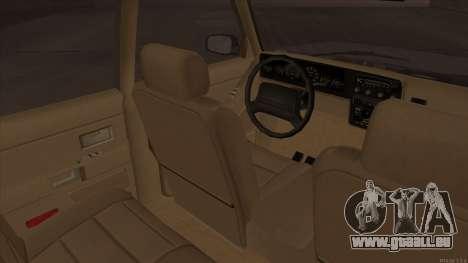 Landstalker HD from GTA 3 pour GTA San Andreas vue arrière