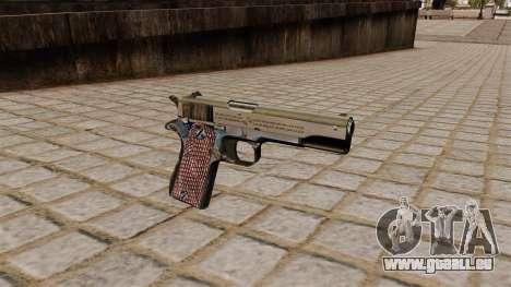 Colt M1911A1 pistolet pour GTA 4
