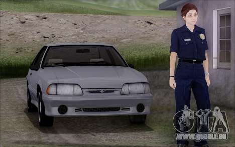 GTA 5 Police Woman pour GTA San Andreas