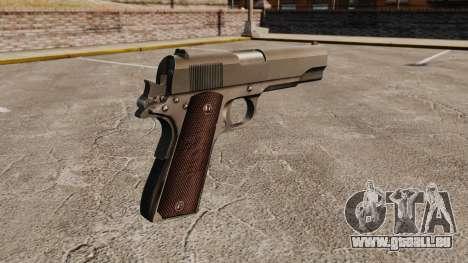 Colt M1911 pistolet v5 pour GTA 4 secondes d'écran