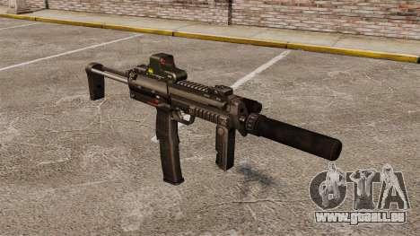 HK MP7 Maschinenpistole Sopmod für GTA 4