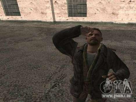 Viktor Reznov pour GTA San Andreas troisième écran