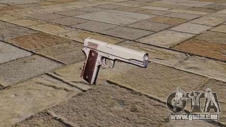 45 M1911 Colt pistol pour GTA 4