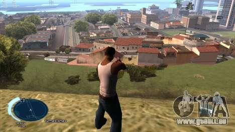 C-HUD Assasins Creed 3 III pour GTA San Andreas