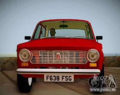 Export VAZ 21011 pour GTA San Andreas vue de droite