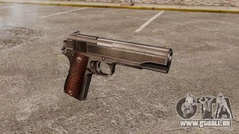 Colt M1911 pistolet v4 pour GTA 4