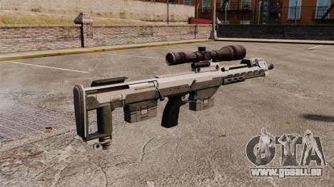 Fusil de sniper DSR pour GTA 4 secondes d'écran