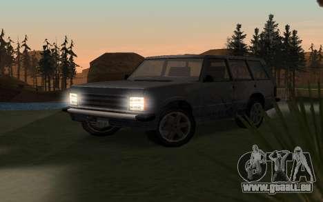 New Effects v1.0 pour GTA San Andreas huitième écran