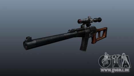 VSS Vintorez Scharfschützengewehr für GTA 4