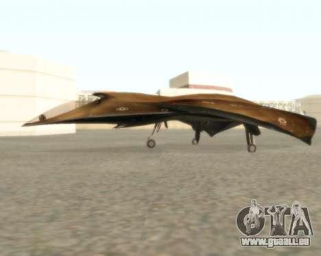 EDI pour GTA San Andreas vue de droite