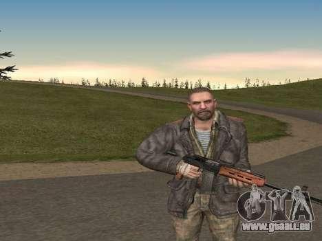 Viktor Reznov pour GTA San Andreas deuxième écran