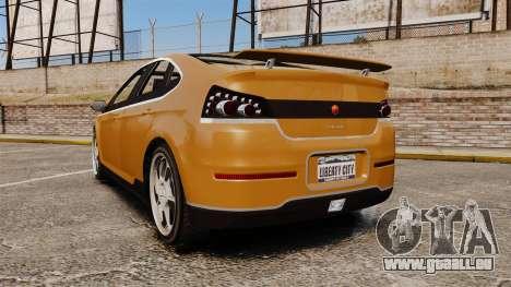 GTA V Cheval Surge pour GTA 4 Vue arrière de la gauche