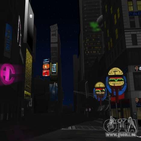 Écrans couleur téléchargement GTA IV pour GTA 4 secondes d'écran