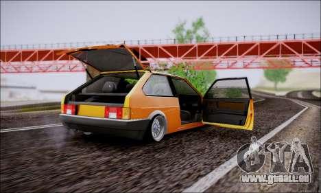 VAZ 21083 basse classique pour GTA San Andreas vue intérieure