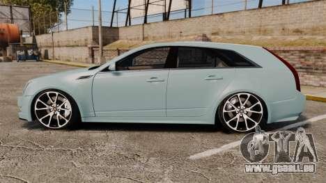 Cadillac CTS SW 2010 für GTA 4 linke Ansicht