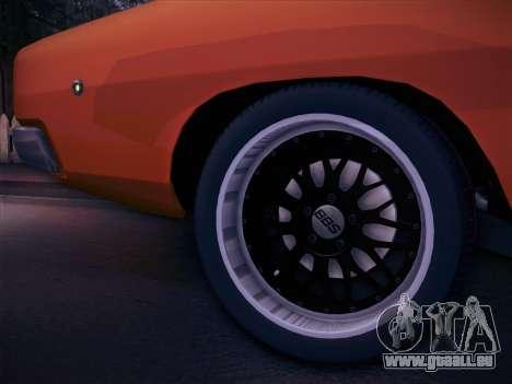 Dodge Charger RT V2 pour GTA San Andreas vue de droite