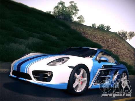 Porsche Cayman S 2014 für GTA San Andreas
