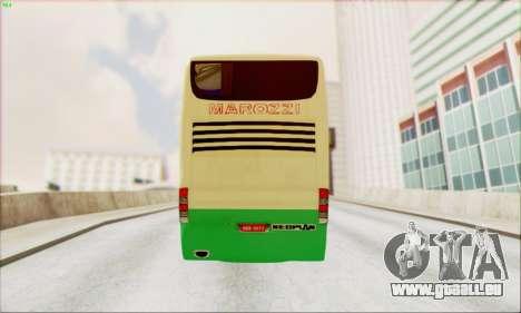 Marcopolo G6 Marozzi Autolinee pour GTA San Andreas sur la vue arrière gauche