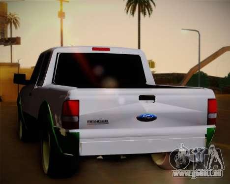 Ford Ranger 2005 pour GTA San Andreas vue de droite