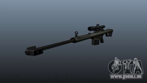 50 sniper rifle calibre pour GTA 4