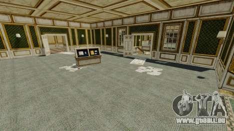 Emplacement Luxville Point Blank pour GTA 4 troisième écran