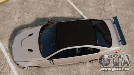 BMW M3 E92 GTS 2010 für GTA 4 rechte Ansicht