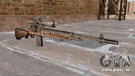 Fusil de sniper M21 pour GTA 4