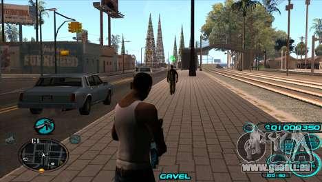 C-HUD Candy Project pour GTA San Andreas deuxième écran