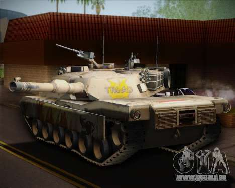 Abrams Tank Indonesia Edition pour GTA San Andreas