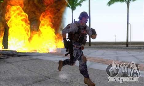 Engineer of Battlefield 4 pour GTA San Andreas quatrième écran