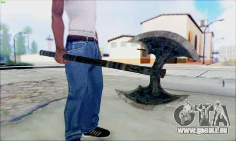 Forge de la hache pour GTA San Andreas deuxième écran