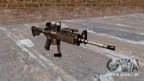 Automatische Carbine M4 Red Dot Black Edition für GTA 4