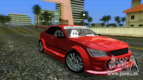 Lexus IS200 pour GTA Vice City