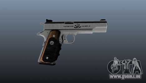 Le pistolet semi-automatique AMT Hardballer pour GTA 4 troisième écran