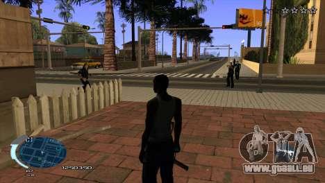 C-HUD Assasins Creed 3 III pour GTA San Andreas troisième écran